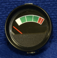 AMMETER, ROUND PANEL (FUSION)