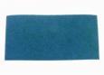 "Floor Pad, 12"" X 18"", Blue, Medium Abrasive Spray Cleaning Pad, Pack of 5"