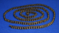 Bulk Roller Chain, #40 (ANSI), Nickle Plated, Steel, 10 Ft. Box